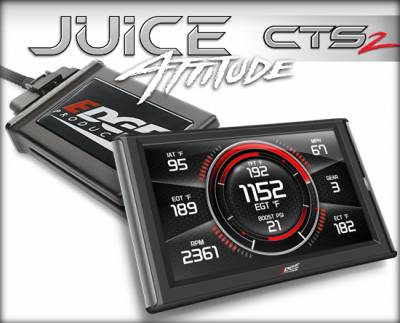 Tuners & Programmers - Tuners / Programmers - Edge Products - 2004.5-2005 GM DURAMAX (6.6L) JUICE W/ATTITUDE CTS2