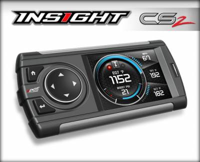 Tuners & Programmers - Tuners / Programmers - Edge Products - INSIGHT CS2 MONITOR  (1996 & NEWER OBDII ENABLED VEHICLE)