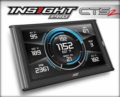 Tuners & Programmers - Tuners / Programmers - Edge Products - INSIGHT PRO CTS2 MONITOR - refer to website for tuning coverage support