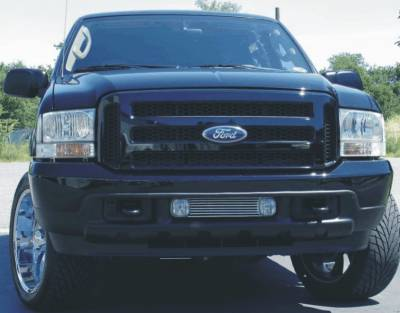 Sinister Diesel - Ford Black 05-07 Super Duty/Excursion Grille to Fit 99-04