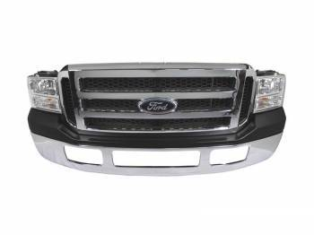 Sinister Diesel - Ford Full 07 Front End Conversion for the 99-04 Super Duty/Excursion (Chrome) W/O Fog Lights