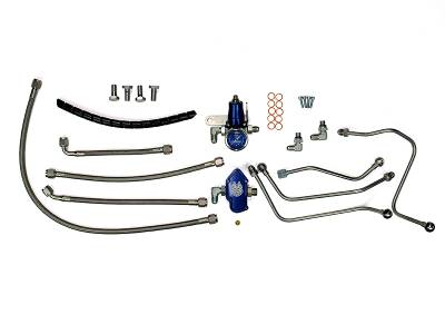 Sinister Diesel - Sinister Diesel 6.0L Powerstroke Regulated Fuel Return Kit