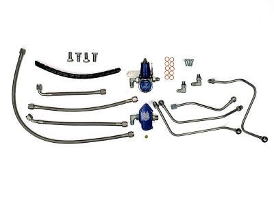 Lift Pumps & Fuel Systems - Lift Pump Accesories - Sinister Diesel - Sinister Diesel 6.0L Powerstroke Regulated Fuel Return Kit