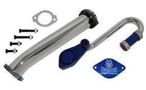 Shop by Category - Emissions Equipment - Sinister Diesel - Sinister Diesel's 6.0L Ford Powerstroke Diesel EGR Valve/Cooler Delete Kit
