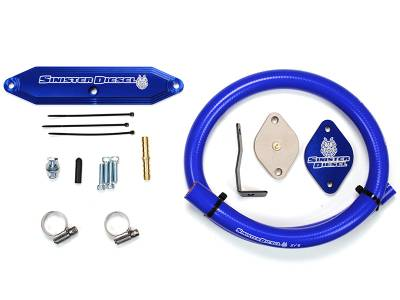 Shop by Category - Emissions Equipment - Sinister Diesel - Sinister Diesel Ford 6.7 2011-2014 EGR Delete Kit