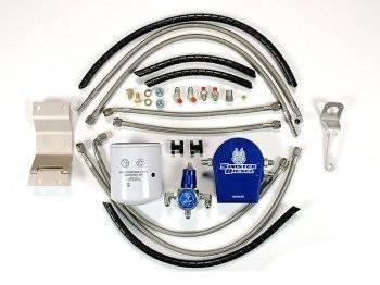 Lift Pumps & Fuel Systems - Lift Pump Accesories - Sinister Diesel - Sinister Diesel 7.3L Powerstroke Regulated Fuel Return w/ Integrated Fuel Filter
