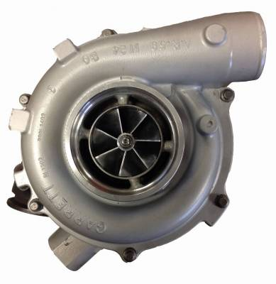 "Turbos & Twin Turbo Kits - Single ""Drop In"" Turbos - Fleece Performance - 2003-2004 63mm FMW Ford 6.0L Cheetah Turbocharger"