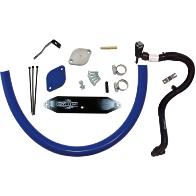 Shop by Category - Emissions Equipment - Gorilla Diesel Performance  - Ford 2015-2016 6.7L EGR Kit W/ RE-Route Hose