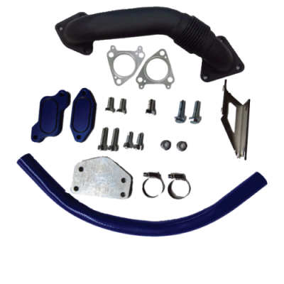 Gorilla Diesel Performance  - GM 2004.5-2005 LLY EGR Kit W/ Up Pipe
