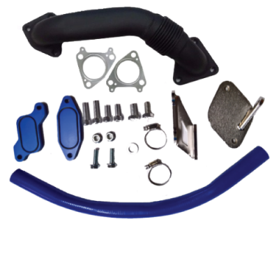 Shop by Category - Emissions Equipment - Gorilla Diesel Performance  - GM 2006-2007.5 LBZ EGR Kit W/ Up Pipe