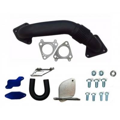Shop by Category - Emissions Equipment - Gorilla Diesel Performance  - GM 2007-2010 LMM EGR Kit W/ Up Pipe