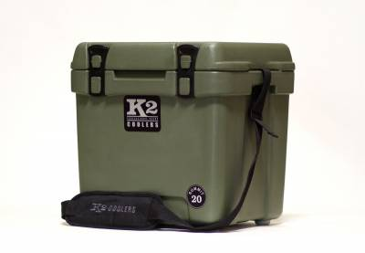 K2 Coolers - Summit 20 Duck Boat Green