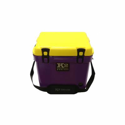 K2 Coolers - Summit 20 Purple/Yellow Lid - *Geaux Tigers*