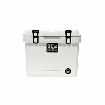 The Outdoors Life - Summit 30 Series Cooler - K2 Coolers - Summit 30- Glacier White