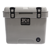 The Outdoors Life - Summit 30 Series Cooler - K2 Coolers - Summit 30- Steel Grey