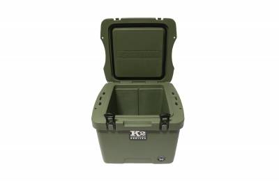 K2 Coolers - Summit 30- Duck Boat Green - Image 2