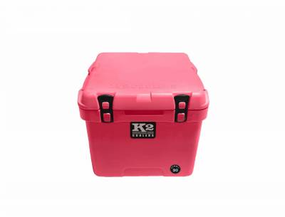 The Outdoors Life - Summit 30 Series Cooler - K2 Coolers - Summit 30- Pink