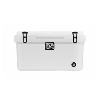 The Outdoors Life - Summit 50 Series Cooler - K2 Coolers - Summit 50 - Glacier White