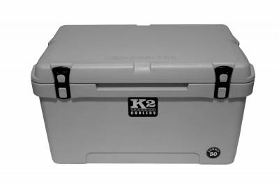 The Outdoors Life - Summit 50 Series Cooler - K2 Coolers - Summit 50 - Steel Grey