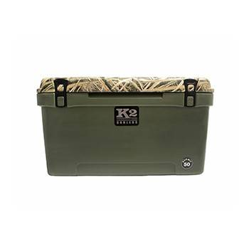 The Outdoors Life - Summit 50 Series Cooler - K2 Coolers - Summit 50 - Mossy Oak Shadow Grass Blades
