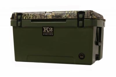 The Outdoors Life - Summit 50 Series Cooler - K2 Coolers - Summit 50 - Mossy Oak Breakup Country Camo