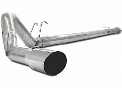 """Exhaust Systems / Manifolds - Turbo Back Single - Jamo Performance Exhaust  - 2008-2010 Ford 4"""" Race Exhaust No Muffler"""