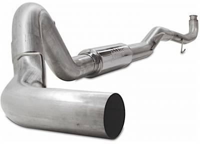 "Jamo Performance Exhaust  - 2011-2015 GM 5"" Race Exhaust with Muffler  (V-band Style)"