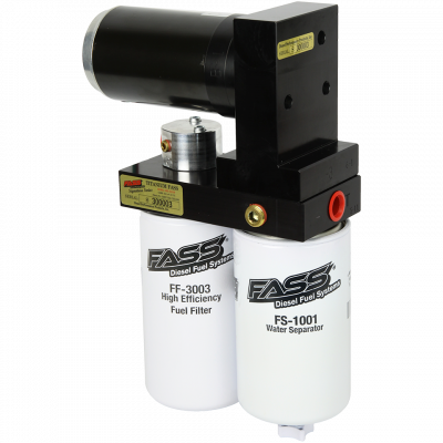 Lift Pumps & Fuel Systems - Lift Pumps - FASS - FASS-TITANIUM SIGNATURE SERIES DIESEL FUEL LIFT PUMP 125GPH@55PSI FORD POWERSTROKE 7.3L AND 6.0L 1999-2007
