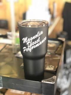 MDP K2 Tumbler - Black w/ White Logo - Image 2