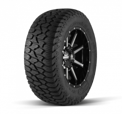 Dodge Cummins - 07.5 + 6.7L Common Rail - AMP Tires - 265/70R17 TERRAIN ATTACK A/T A 121/118S LR  E