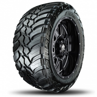 Dodge Cummins - 07.5 + 6.7L Common Rail - AMP Tires - 305/55R20 Mud Terrain Attack M/T A 121Q LR  E