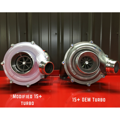 "Turbos & Twin Turbo Kits - Single ""Drop In"" Turbos - Snyder Performance Engineering (SPE) - SPE VGT Modified Turbo Upgrade Kit"