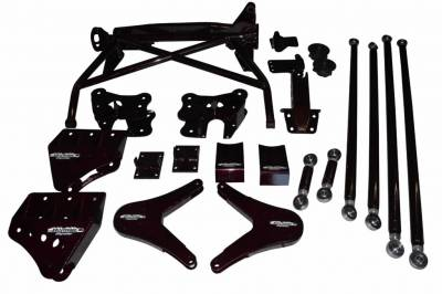 BulletProof Suspension  - BulletProof Suspension 2005-2016 Ford Super Duty 4wd Rear 4 Link Cantilever System - Image 2