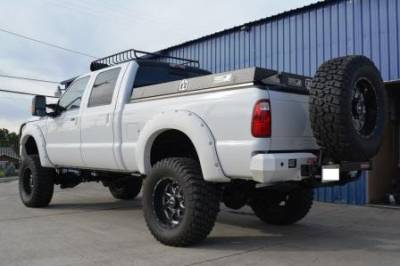 "BulletProof Suspension  - BulletProof Suspension 2005-2016 Ford F-250 F-350 4WD 6""-8"" Suspension Lift kit - Option 5 (All+ Rear Cantilever) - Image 3"