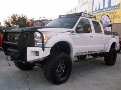 "BulletProof Suspension  - BulletProof Suspension 2005-2016 Ford F-250 F-350 4WD 6""-8"" Suspension Lift kit - Option 5 (All+ Rear Cantilever) - Image 2"