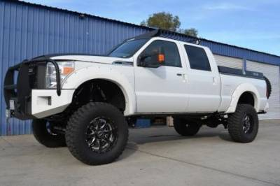 """BulletProof Suspension  - BulletProof Suspension 2005-2016 Ford F-250 F-350 4WD 6""""-8"""" Suspension Lift kit - Option 5 (All+ Rear Cantilever)"""