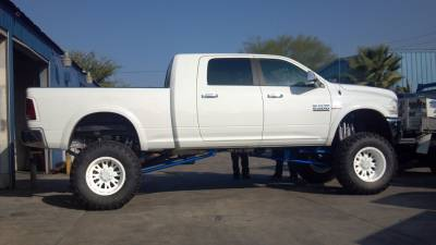 BulletProof Suspension  - BulletProof Suspension 2009-2013 Dodge Ram 2500-3500 10-12 Inch Lift Kit - Option 1 (Basic) - Image 2