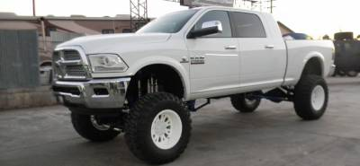 BulletProof Suspension  - BulletProof Suspension 2009-2013 Dodge Ram 2500-3500 10-12 Inch Lift Kit - Option 2 (Upgraded) - Image 3