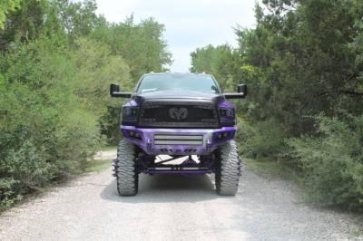 "BulletProof Suspension  - BulletProof Suspension 2014-1018 Dodge Ram 2500 4wd 10""-12"" Lift Kit - Image 3"