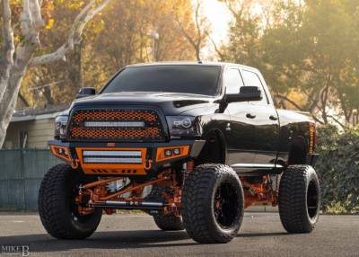 "BulletProof Suspension  - BulletProof Suspension 2014-1018 Dodge Ram 3500 4wd 10""-12"" Lift Kit"