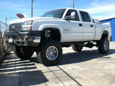 "BulletProof Suspension  - BulletProof Suspension 2001-2010 Chevy-GMC 2500-3500 6""-8"" Lift Kit - Option 1 (Basic) - Image 2"