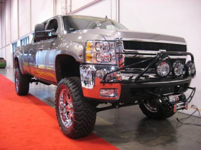 "BulletProof Suspension  - BulletProof Suspension 2001-2010 Chevy-GMC 2500-3500 6""-8"" Lift Kit - Option 1 (Basic) - Image 3"