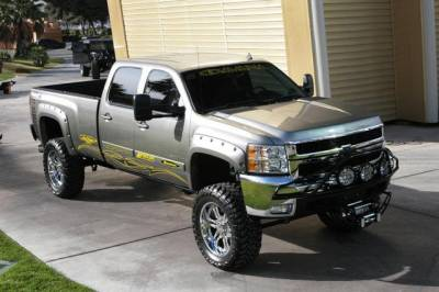 "BulletProof Suspension  - BulletProof Suspension 2001-2010 Chevy-GMC 2500-3500 6""-8"" Lift Kit - Option 1 (Basic) - Image 4"