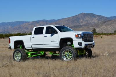 BulletProof Suspension  - BulletProof Suspension 2011-2017 Chevy/GMC 2500-3500 4WD Rear Cantilever 4 Link System - Image 2