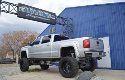 BulletProof Suspension  - BulletProof Suspension 2011-2017 Chevy/GMC 2500-3500 4WD Rear Cantilever 4 Link System - Image 3
