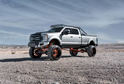 "Suspension - Lift Kits - BulletProof Suspension  - BulletProof Suspension 2017-18 Ford F250/350 10""-12"" Suspension Lift Kit - Option 4 (All+ Rear Cantilever)"