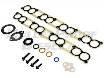 Engine Parts & Performance - Gaskets / Seals / Fittings / Bearings - Bullet Proof Diesel - 6.0 EGR Cooler Gasket Set and Turbo Hardware, No EGR Hose
