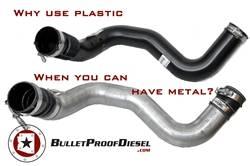 Bullet Proof Diesel - 6.0L Intercooler Tube, Metal Construction, Ford F-Series 6.0L Diesel - Image 3