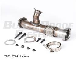 Bullet Proof Diesel - BulletProof Up-Pipe and Hardware Kit, Ford 6.0L Diesel