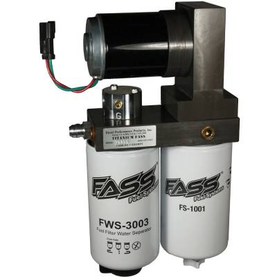 Lift Pumps & Fuel Systems - Lift Pumps - FASS - FASS-Titanium Signature Series Diesel Fuel Lift Pump 290GPH GM Duramax 6.6L 2001-2016